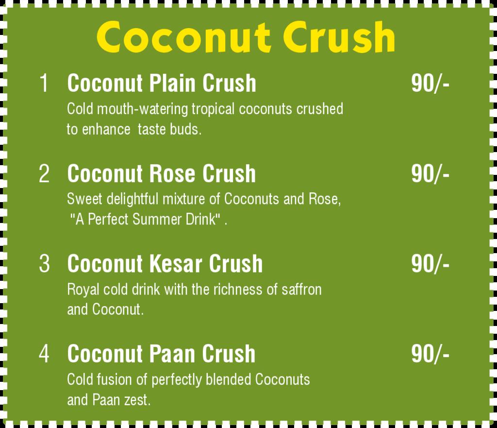 Coconut Crush